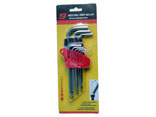 PT-11 9PC HEX KEY WRENCH ( BALL END, LONG SIZE)
