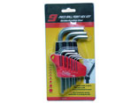 PT-17 9PC HEX KEY WRENCH ( HEX END,STANDARD SIZE)